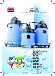 Numatic - WVD750T-2 - Heavy Duty Wet & Dry Vacuum