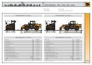 JCB - 535-140 - 14 mtr Telehandler - JW Hire & Sales Ltd