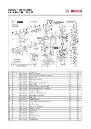 Bosch - GSH27 - Heavy Duty Electric Breaker