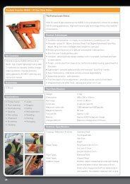 24 Product Advantages Tool Specification Applications Substrates ...