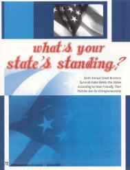 What's Your State's Standing - AWCI