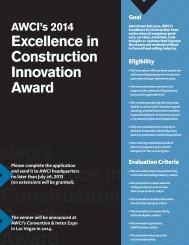 2014 AWCI Innovation Nomination Form.indd