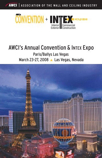 AWCI's Annual Convention & INTEX Expo
