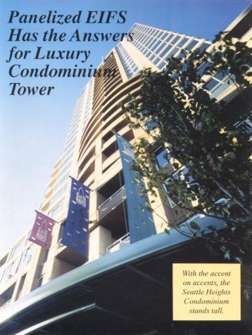 panelized EIFS Has the Answers for Luxury Condominium ... - AWCI