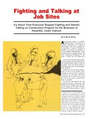 Fighting and Talking at Job Sites - AWCI