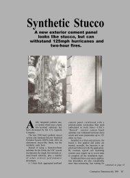 Synthetic Stucco - AWCI