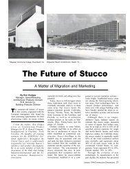 The Future of Stucco - AWCI