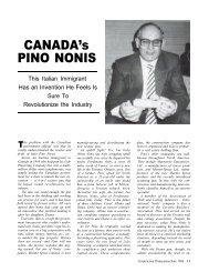 Canada's Pino Nonis - AWCI
