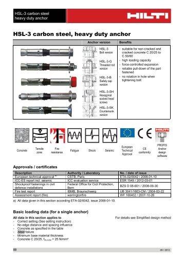 Array - hilti anchor fastening technology manual 2013  rh   arthursstmoritz net