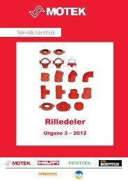 Rilledeler - coBuilder