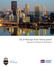 City of Pittsburgh Public Parking System