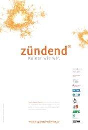 bewegen, begegnen, begeistern - Wuppertal Marketing Gmbh