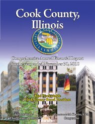2010 Comprehensive Annual Finance Report - Cook County