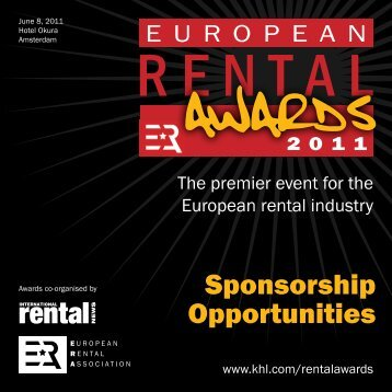 rental - ERA European Rental Association