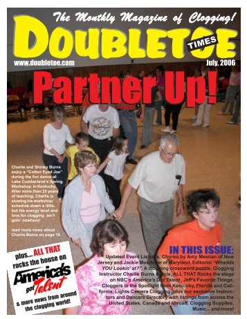 Jul 2006 - Double Toe Times