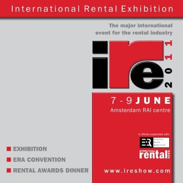 IRE Brochure - ERA European Rental Association