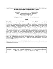 Social Construction of Gender and Sexuality in Online HIV/AIDS ...