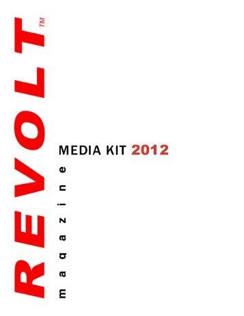 MEDIA KIT 2012 - Revolt Magazine