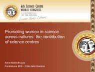 Diapositiva 1 - 6th Science Centre World Congress