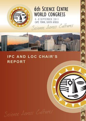 Appendix IX, IPC and LOC Chair's Report.pdf - 6th Science Centre ...