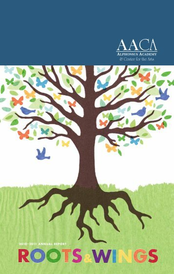 please download our most recent annual report. - Alphonsus ...