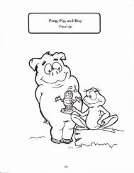Story of the Week: Frog, Pig and Bug