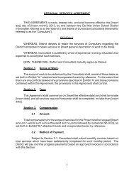 Personal Services Agreement - Del Mar Union School District