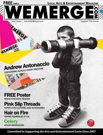 Andrew Antonaccio - WeMerge Magazine