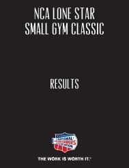 Lone Star Small Gym Classic