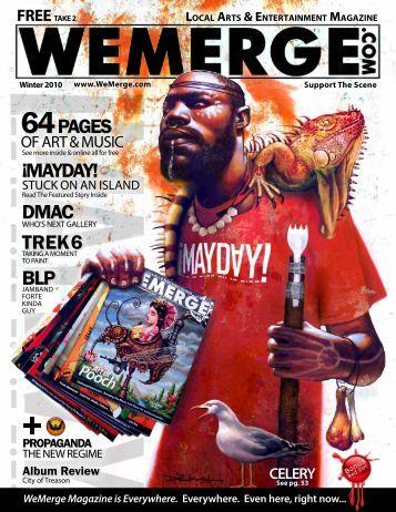 TREK6 MAYDAY! 64PAGEs DMAC ! BLP - WeMerge Magazine