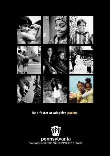 SWAN Family Booklet (English) - Pennsylvania Adoption Exchange
