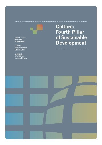 Policy Statement on Culture: Fourth Pillar of Sustainable Development