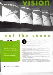 no he venue. - Cultural Development Network