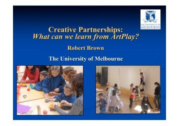 Creative Partnerships: What can we learn from Artplay? - Cultural ...