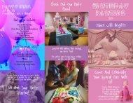 Birthday Party Brochure in PDF Format - Dance With Brigitte