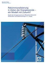 Rekommunalisierung in Zeiten der Energiewende ... - Firmenkunden