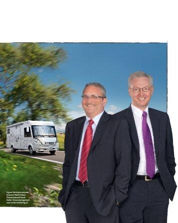 Hymer-Vertriebsvorstand Hermann Pfaff (links ... - Firmenkunden