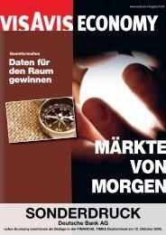 Risikomanagement ist Chefsache - Deutsche Bank