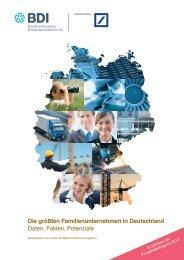 Die größten Familienunternehmen in Deutschland ... - Deutsche Bank