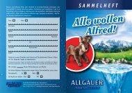 Alle wollen Alfred! - Allgäuer Alpenwasser
