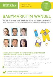 BABYMARKT IM WANDEL - Biesalski & Company