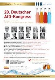 20. Deutscher AfG-Kongress - Biesalski & Company