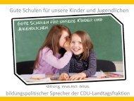Gute Schulen für unsere Kinder - Elke Brunnemer