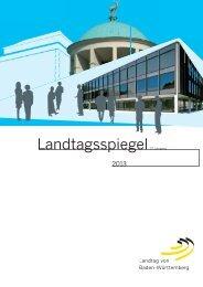 Landtagsspiegel 2013 als PDF-Dokument - Landtag Baden ...