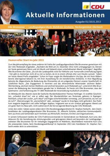 Ausgabe 01/2013 als PDF-Dokument - Elke Brunnemer