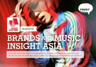 brands and music insight asia - ALLTHATMATTERS