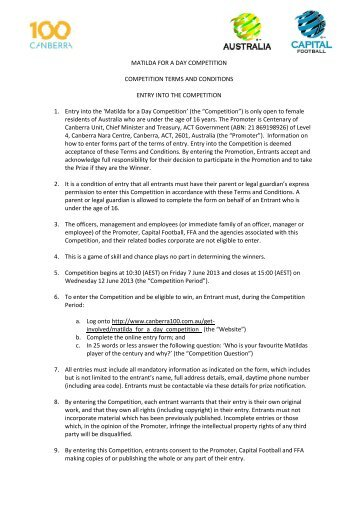 Creating movie magic competition brief to download competition terms and conditions canberra 100 pronofoot35fo Images