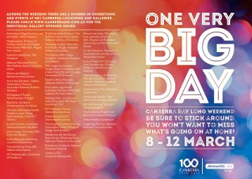 to find out more. - Canberra 100