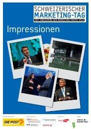Eventzeitung - Schweizerischer Marketing-Tag