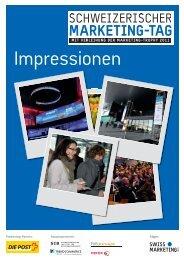 Eventzeitung zum Schweiz. Marketing-Tag 2011 - Schweizerischer ...